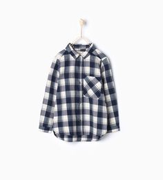 Check shirt-Shirts-Girl-Kids | 4-14 years-KIDS | ZARA United States