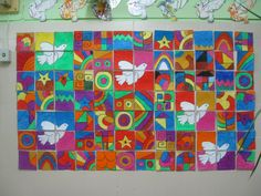 Murales Día de la Paz (12) School Projects, Art Projects, Bible Story Crafts, Peace Art, Remembrance Day, Music Backgrounds, Art Activities, Classroom Decor, Art School