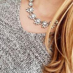Dainty Floral Statement #Necklace 23,90 € #happinessbtq