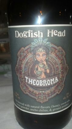 Dogfish head Ancient ale series: Theobroma