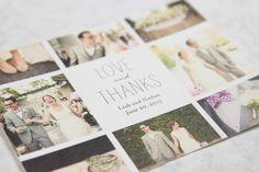 Elegant simple postcard invitation