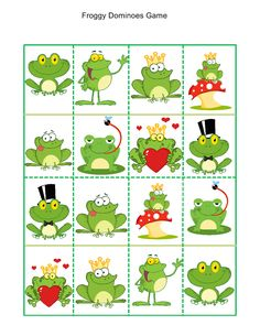 4 Frog Activities for Kids Worksheet froggy dominoes game √ Frog Activities for Kids Worksheet . 4 Frog Activities for Kids Worksheet . Letter F Frog theme Lesson Plan Printable Activities Poster in Worksheets For Kids Frog Activities, Frog Games, Printable Activities For Kids, Worksheets For Kids, Frog Nursery, Nursery Decor, Frogs Preschool, Frog Theme, Frog Crafts