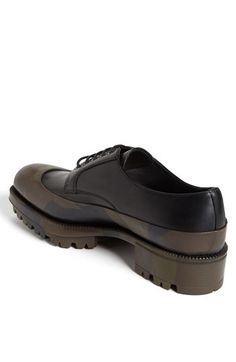 e544d39aad1 Prada Camo Overlay Derby Shoe