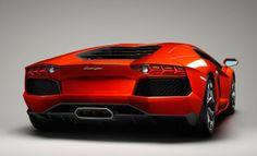 Aventador rear