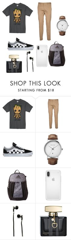 """Im groot"" by agathachan0 on Polyvore featuring Paul Smith, Vans, Georg Jensen, adidas, Speck, Master & Dynamic, Gucci, men's fashion and menswear"