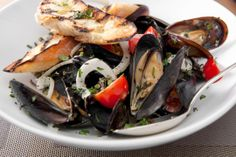 Mussels with Fennel and Tomato #Recipe from ArtBar - easy and ...