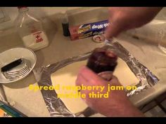 Kirby's Raspberry Strudel: this is a delicious cream cheese pastry. Kirby shows all the steps.