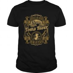 Awesome Tee Just A Kid From Toms_River New Jersey T-Shirts
