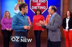 New Food Rules to Achieve Permanent Weight Loss from Dr Oz show by dr J. Fuhrman - never diet ever again, don't count cals, carbs or anything else and eat as much as you want if you follow a few simple rules!