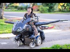 Dad's Awesome Nonprofit Builds Wheelchair-Based Halloween Costumes For Kids