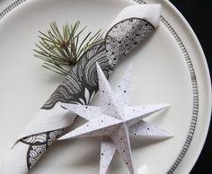 Oikotie Sisustus | Joannan blogi: DIY -paperitähdet - Oikotie Sisustus Diy Christmas Star, Holiday, Origami, Tableware, Inspiration, Biblical Inspiration, Vacations, Dinnerware, Tablewares