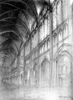 gothic by glowacki.devianta on gothic by glowacki.devianta on The post gothic by glowacki.devianta on appeared first on Architecture Diy. Gothic Architecture Drawing, Cathedral Architecture, Ancient Architecture, Architecture Details, Perspective Drawing, Urban Sketching, Art Design, Art Techniques, Art Sketches