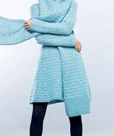 Neulo Jukka Rintalan suunnittelema A-linjainen tunika - Kotiliesi. Chrochet, Knitting, Sweaters, Handmade, Diy, Fashion, Tunic, Crochet, Moda