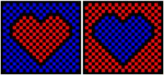 """"""" Optical Illusions and the Illusion of Love How do we fool thee? Let us count the ways--that illusions play with our hearts and minds."""" Shown: Slide 1 of """"Pop! Goes My Heart"""" Logic Problems, Mind Benders, Scientific American, Great Logos, Word Games, Heart And Mind, Optical Illusions, The Fool, Reflection"""