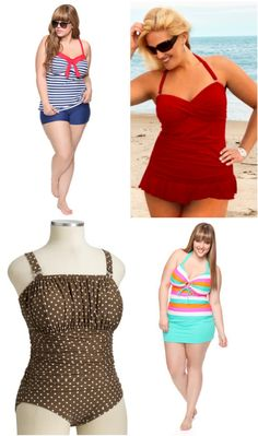 Five Adorable (and Affordable) Plus Size Swimsuits