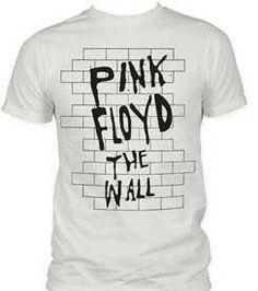 Pink Floyd 'The Wall' Slimfit Lightweight Vintage White T-Shirt - List price: $29.95 Price: $12.45 Saving: $17.50 (58%)