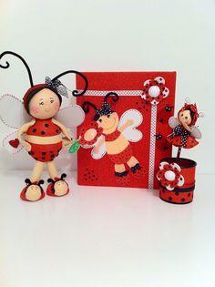 Pack Mariquita #Fofuchas Visítanos en - Facebook: Happy Days // Instagram: @Cris Cho // O en nuestra web: www.happydays.ecarty.com