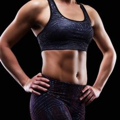 Strong muscular female body showing abdominal muscles Abdominal Muscles, Female Bodies, Abs, Strong, Fashion, Stubborn Belly Fat, Crunches, Flat Tummy, Exercises