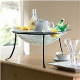 Sausalito Beverage Server - great for entertaining.  Made from recycled glass.