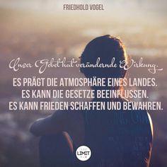 #Gebet #Wirkung #Friedhold Vogel