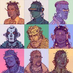 Cyberpunk 2077, Character Art, Character Design, Pastel Punk, Game Concept Art, Sci Fi Characters, Retro Aesthetic, Cultura Pop, Sci Fi Art