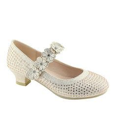 Add sparkle to your little one's outfit with these darling Mary Janes that feature glittery flowers across the instep. Flower Girl Shoes, Girls Shoes, Sugar And Spice, Mary Janes, Little Girls, Champagne, Loafers, Sneakers, Sparkle