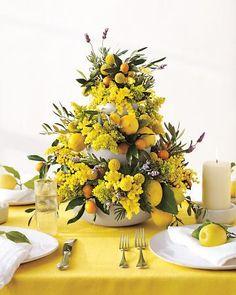 Tiered fruit centerpiece