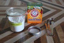 DIY non-toxic ant killer: equal parts powdered sugar & baking soda
