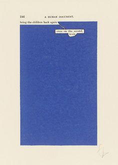 Tom Phillips - A Humument - p.246