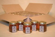 The prefect thank you gift for your party! Send you guest home with a sweet memory. Pure US honey from a family beekeeping farm. Honey And Clover, Real Honey, Beekeeping, For Your Party, Sweet Memories, Thank You Gifts, Party Favors, Pure Products, Food