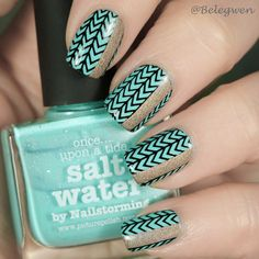Picture Polish – Salt Water Picture Polish, Starbucks Iced Coffee, Salt And Water, Coffee Bottle, Nail Art Designs, Class Ring, Nails, Finger Nails, Ongles