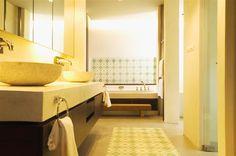 Bathroom area in Family Suite Sri Panwa Luxury Hotel Phuket Thailand.