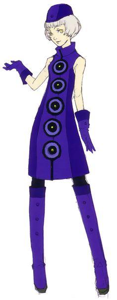 Elizabeth - Characters  Art - Shin Megami Tensei: Persona 3