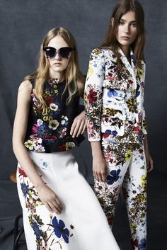 Erdem Fashion. Find more about the H&M x Erdem collab on beyoutifullyinspired.com