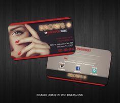 Business Card design for Make Up Artist #businesscard #businesscardprinting #businesscarddesign #graphicdesign #logoportfolio #design #clothing