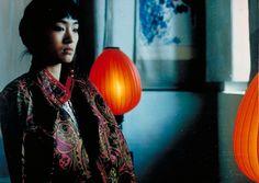 Gong Li in Raise the Red Lantern by Zhang Yimou 1991