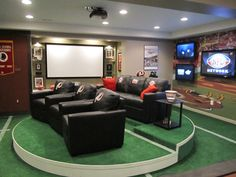 Man caves come in so many sizes, large and small, and plenty of great remodels!