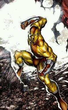 The Shocker of Marvel Comics Comic Book Villains, Marvel Villains, Marvel Comics Art, Marvel Comic Books, Comic Book Characters, Comic Book Heroes, Marvel Heroes, Marvel Characters, Anime Comics