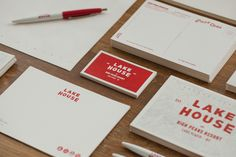 Tag Collective | Lake House Stationery Detail