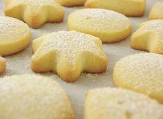 Gluten Free Shortbread Sugar Cookies