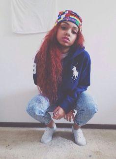 johnna paige , red hair , curls .