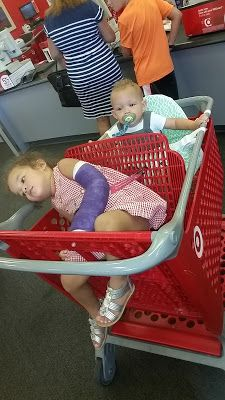 Opinion Shopping cart covering for baby chubby