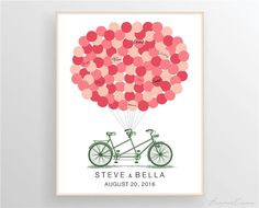 Alternative First Wedding Anniversary Gifts : ... Wedding Anniversary? Basteln Pinterest Guest book alternatives