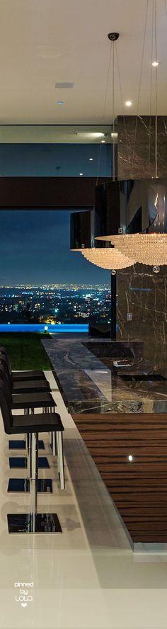 48.5 Million Bel Air Home | LOLO❤ Bel Air, Interior Design Kitchen