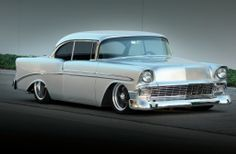 1956 chevy bel air | 1956-chevrolet-bel-air-hardtop-front-view.jpg