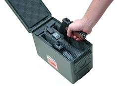 Amazon.com : Case Club 2 Pistol Holder .50 Cal Ammo Can Foam (Pre-cut, Closed Cell, Military Grade Foam) : Sports & Outdoors