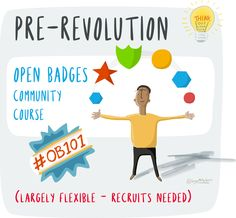 Open Badges 101 online course from the Think Out Loud Club. Out Loud, Online Courses, Badges, Flexibility, Club, Teaching, Digital, Back Walkover, Badge