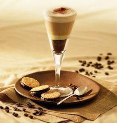 Receita de caf com chocolate e leite condensado