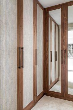 Wardrobe Interior Design, Wardrobe Door Designs, Wardrobe Closet, Closet Bedroom, Home Office Design, House Design, Kim House, Minimalist Closet, Mews House