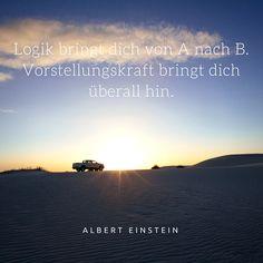 Zitat von Albert Einstein, mehr inspirierende und motivierende Zitate im Blogbeitrag von magicofword unter http://www.magicofword.com/blog/10-motivierende-zitate-fuer-unternehmer